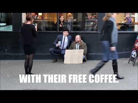 Free Coffee....  My random act of kindness