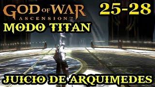 """""""MODO TITAN"""" GOD OF WAR: ASCENSION   14 - Juicio de Arquimedes"""