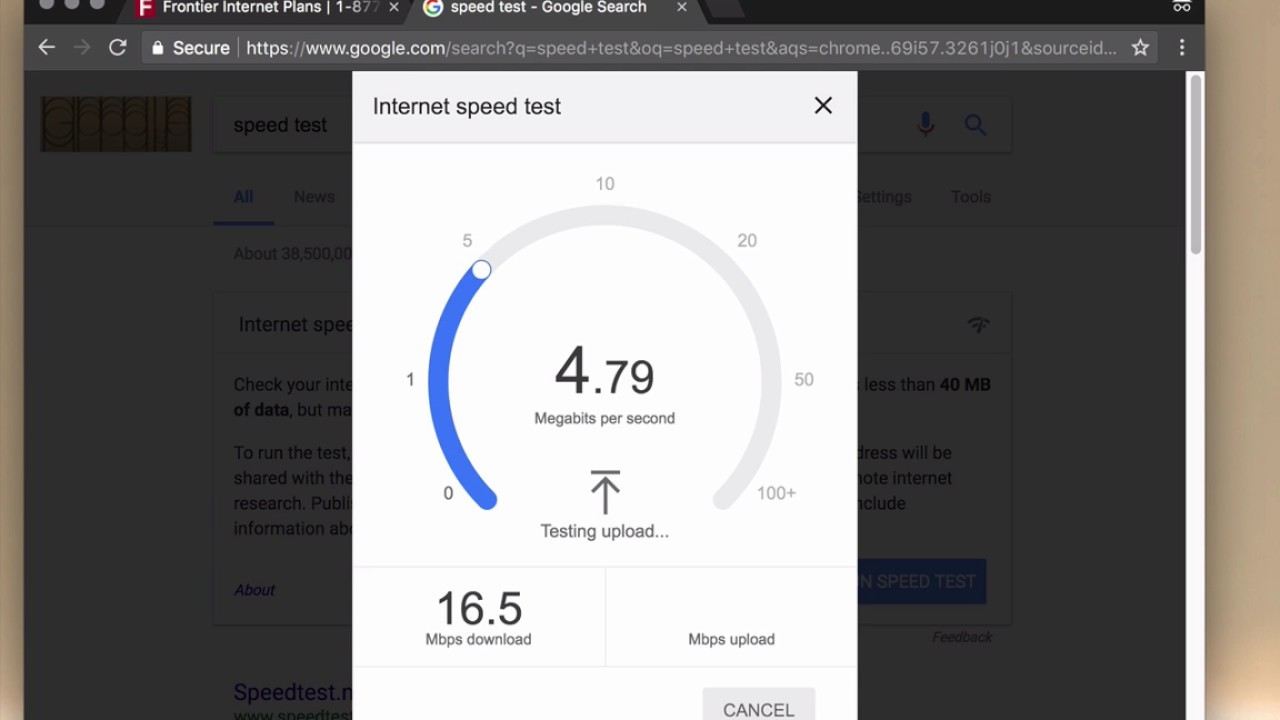 Speed Test Frontier >> Frontier Communications Dsl Speed Test