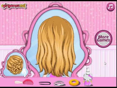 Маленькая Барби игра Летние причёски (Baby Barbie Summer Braids)