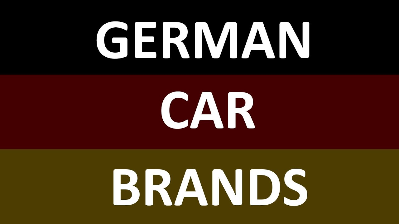 German Car Brands