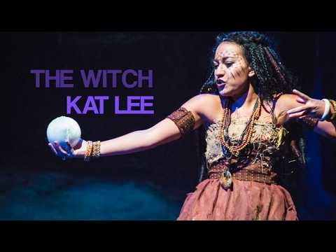 Kat Lee FLIES As The Witch In BIG FISH