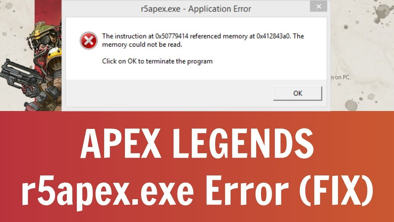 How To Fix r5apex exe Application Error In Apex Legends