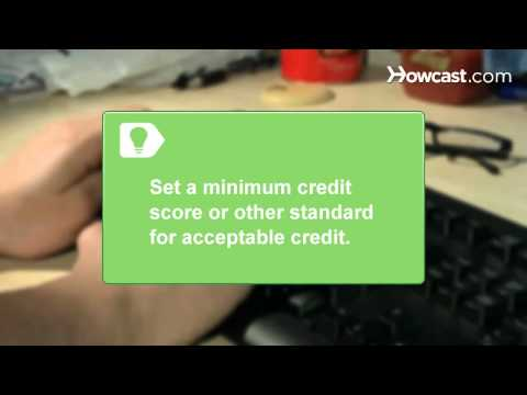 How to Run a Credit Check on Prospective Tenants