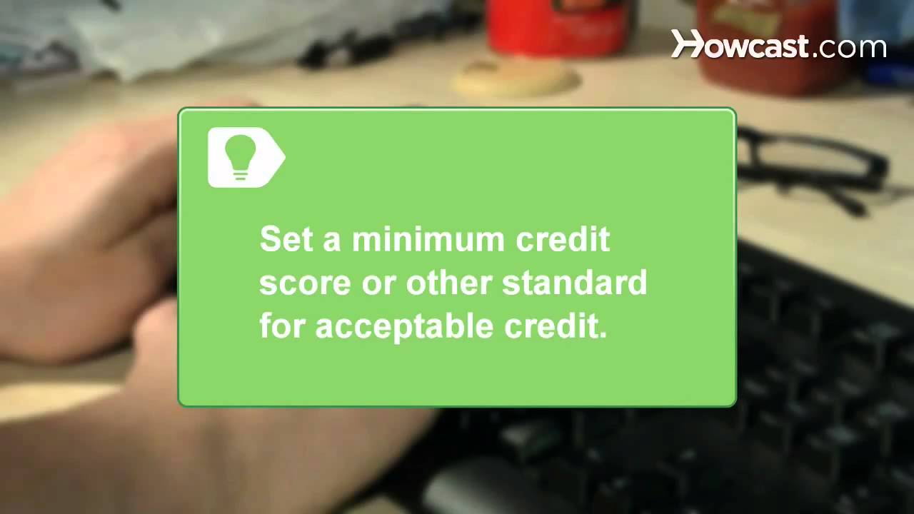 How To Run A Credit Check On Prospective Tenants Youtube