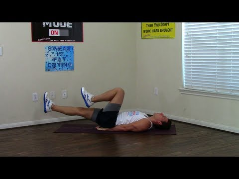 3 Min Beginner Core Workout - HASfit Easy Core Exercises - Quick Abs - Beginner Abs - Easy Ab