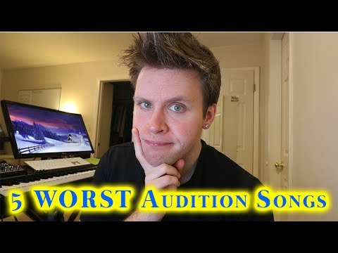 5 WORST AUDITION SONGS for Singers