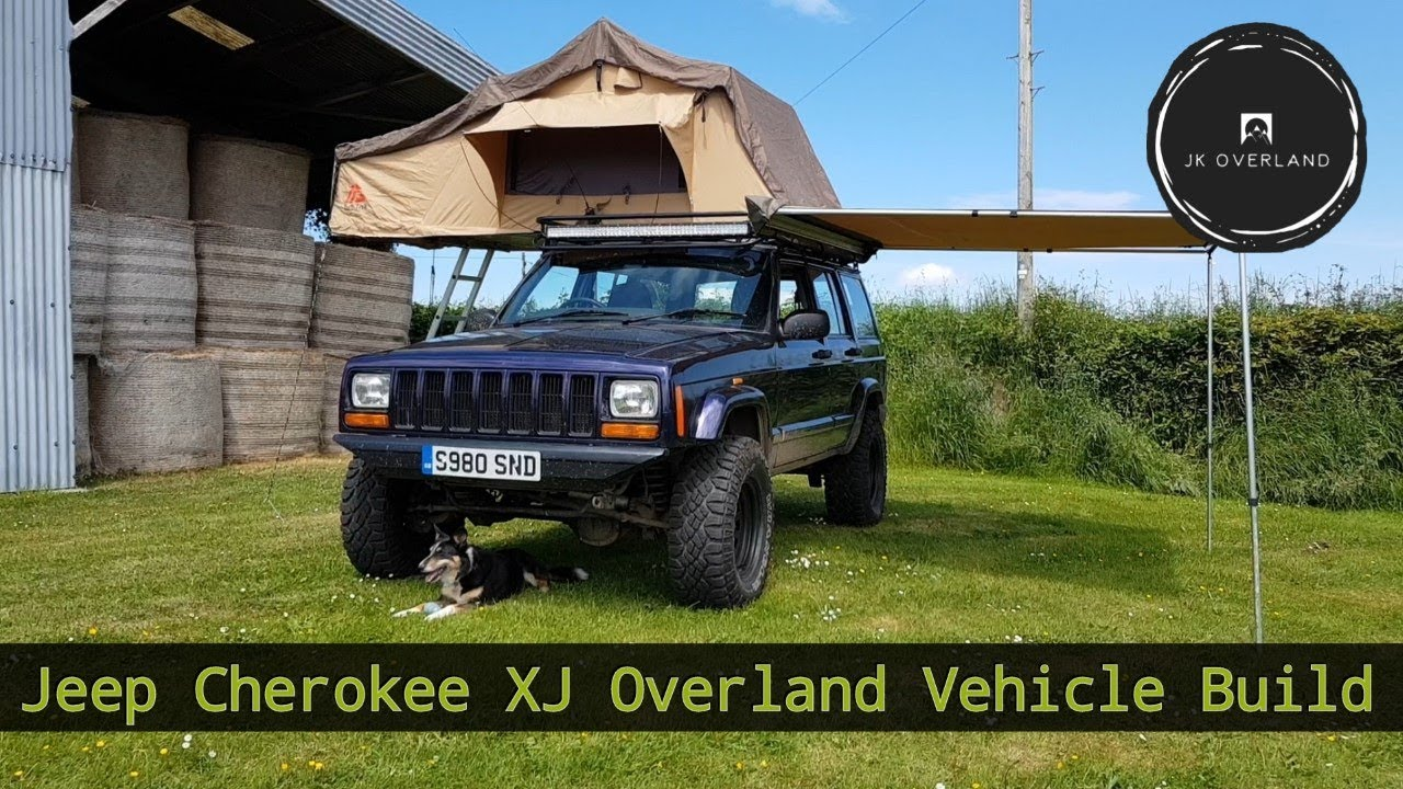 Jeep Cherokee XJ Overland Build, Overlanding Jeep