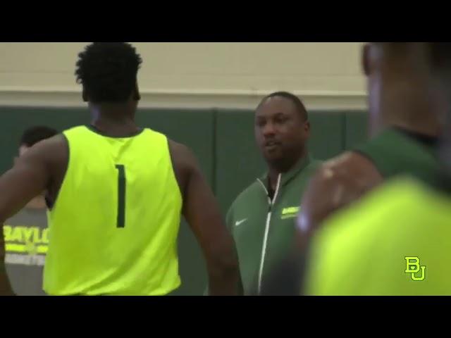 Coach Brooks III Mic'd Up - Baylor University