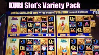 ★KURI Slot's VARIETY PACK 1☆FUN & WIN $ From Boo to Big Win $ Mega Vault/There's the Gold/Ming etc☆彡