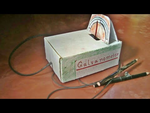 how to make galvanometer at home