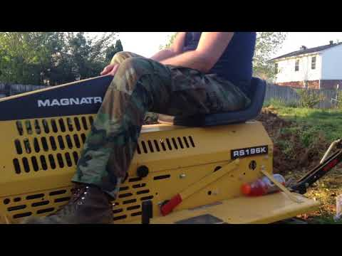 Repeat magnatrac 5000 mini dozer by John Anthony - You2Repeat