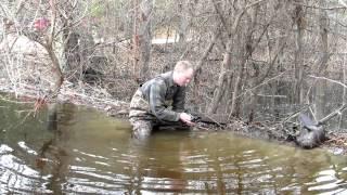 Beaver Trapping - Dam Break Set