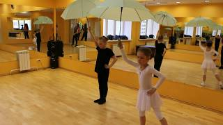 Видео-урок (II-семестр: май 2017г.) - филиал Восточный, группа 6-9 лет, Современный танец