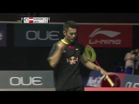 OUE Singapore Open 2016 | Badminton SF M5-MS | Sony Dwi Kuncoro vs Lin Dan