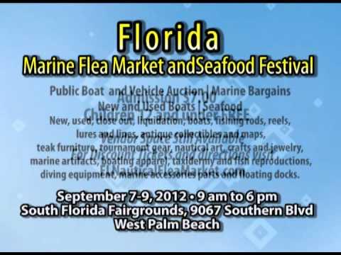 Florida Marine Flea Market and Seafood Festival West Palm Beach