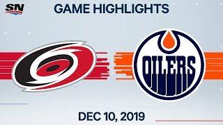 NHL Highlights   Hurricanes vs. Oilers – Dec. 10, 2019