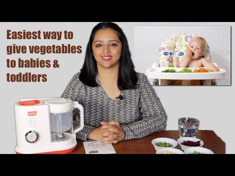 Easiest way to give Vegetables to Babies & Kids