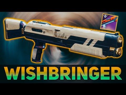 Wishbringer Review u0026 Shotgun Comparison (Any good?) | Destiny 2 Black Armory