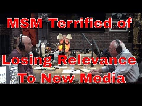 MSM Smears Bernie Sanders Joe Rogan Interview out of Fear
