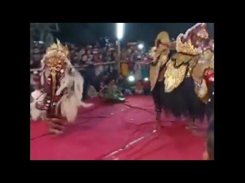 kesenian tari Leak BALI dan Barongan live Keji Muntilan Magelang