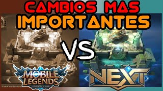 Cuales son LOS CAMBIOS MAS IMPORTANTES de Mobile Legends Next !? - Mobile Legends - Leo
