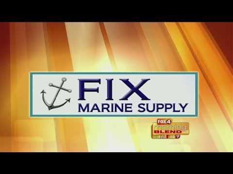 Marine Minute - Fix Marine Supply: How to maintain your boat lift 05/14/2015
