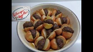 Soğan Kebabı Tarifi - Yöresel Lezzet Soğan Kebabı - Bitmeyen Lezzetler