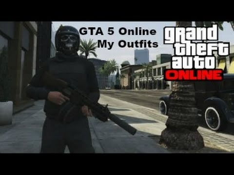 My GTA 5 online Outfits - YouTube