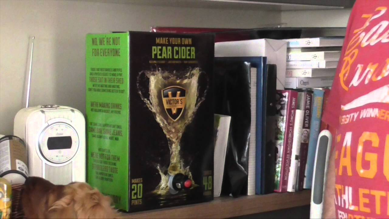 Victors Drinks - Pear Cider within 48 hours