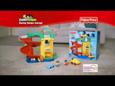 Little People Garage : Vintage fisher price little people garage w box tons of