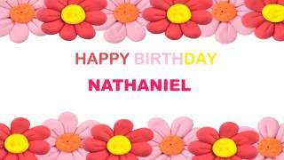 Nathaniel   Birthday Postcards & Postales - Happy Birthday