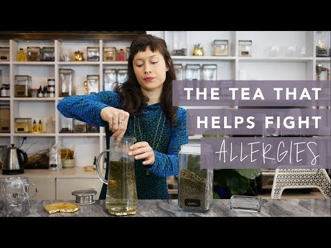 The tea that can help you conquer allergies