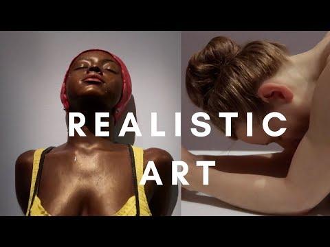 Hyper Realistic Human Sculptures