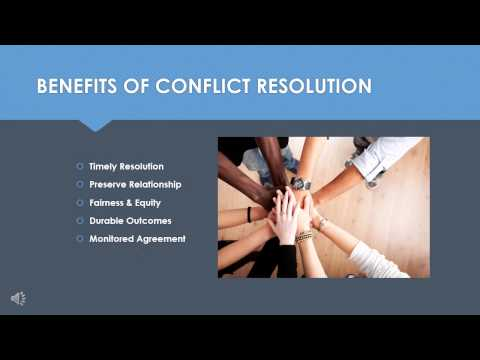 Conflict Resolution Fundamentals