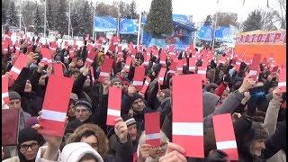 Выдвижение Алексея Навального кандидатом в президенты: Саратов, 24.12.2017 #Навальный2018