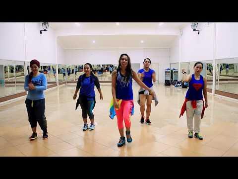 """Zumba """"La Habana By Pinto """"Wahin"""" & DJ Ricky Luna /Choreo By Chenci At WKM Studio,Sangatta,Kaltim"""