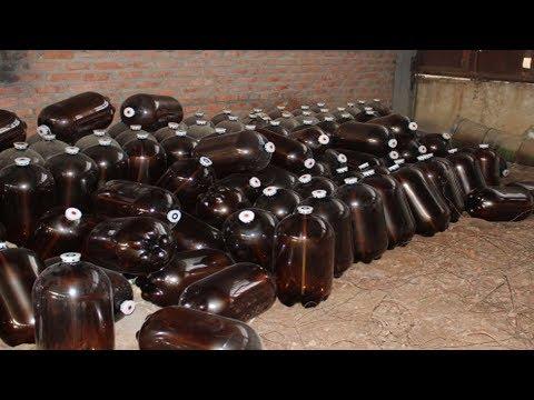 Поделки из 30 литровых пластиковых бутылок своими руками