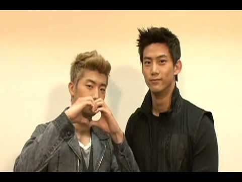 [BTS] Taecyeon + Wooyoung - Dream High OST Recording