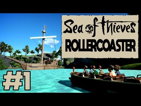 SEA OF THIEVES ROLLERCOASTER #1 // PLANET COASTER - Sea of Thieves themed Rollercoaster!