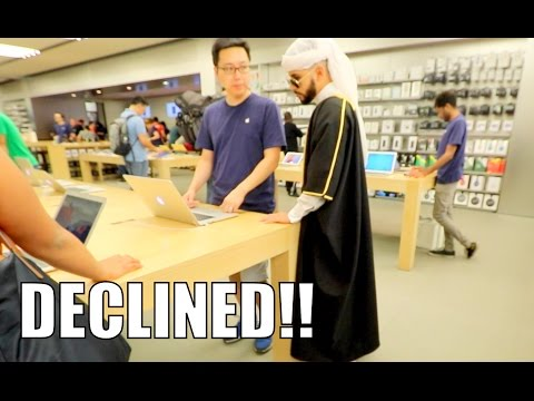 Rich Arab Prince Gets Credit Card DECLINED!!