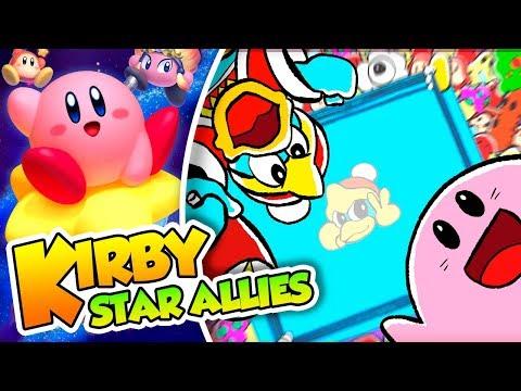 ¡La araña saltarina! - #03 -Kirby Star Allies en español (Switch) con Naishys