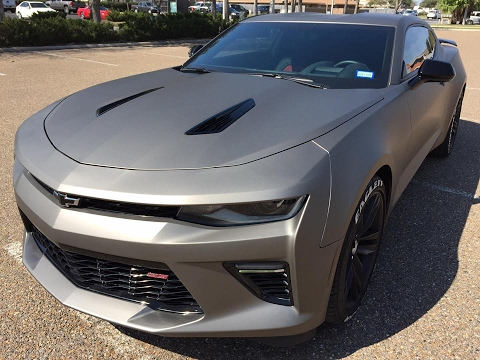 2016 Chevy Camaro SS Wrapped in Avery SW900 Giovanna Matte ...