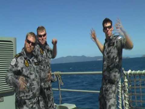 I'm on a boat - Australian Navy Style