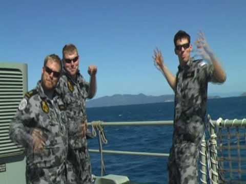 I'm On A Boat - Australian Navy Style