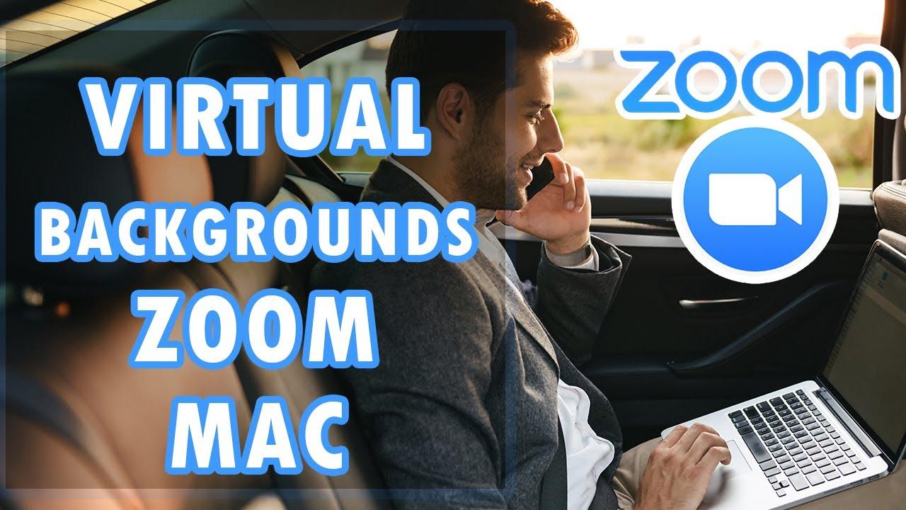 How To Use Virtual Background On Zoom For Mac Tutorial Youtube