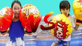 Giant Inflatable Toy Boxing - Entertainments for children by LaLa Kids TV