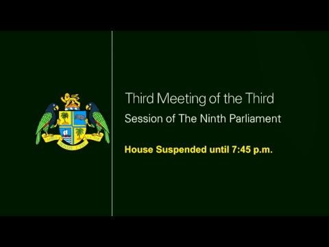 House of Assembly of Dominica - May 1st (Afternoon Session)
