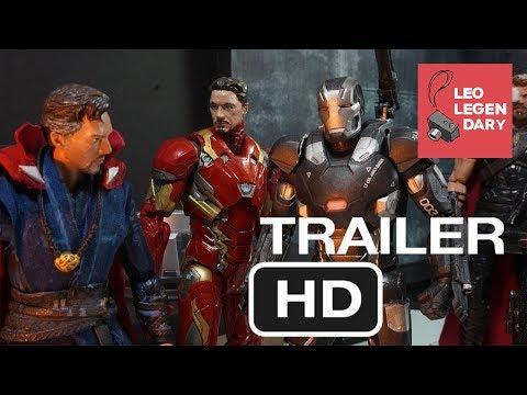 Infinity War Part 3 & 4 Finale Trailer Stop-Motion