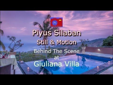 Piyus Silaban Photography Behind the scene @ Giuliana Villa Lombok